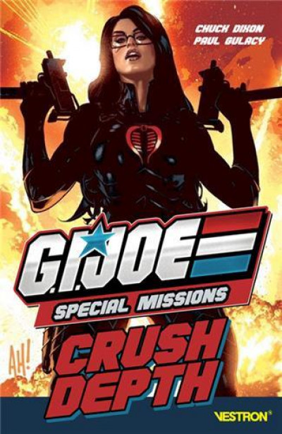Couverture G.I. Joe special missions - Crush depth