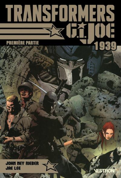Couverture Transformers / G.I. Joe : 1939 tome 1