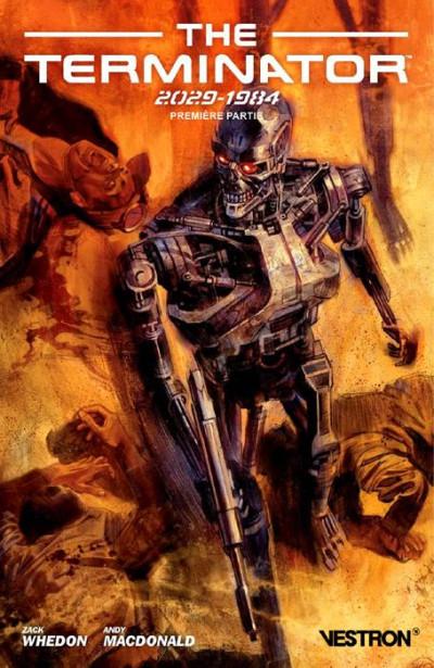 Couverture The terminator 2029-1984 tome 1