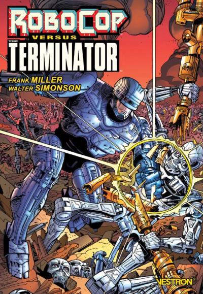 Couverture Robocop vs. terminator
