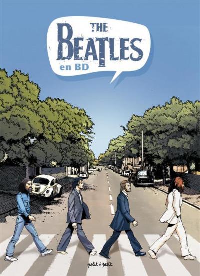 Couverture Les Beatles en BD