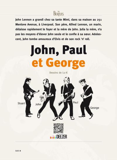 Page 1 Les Beatles en BD