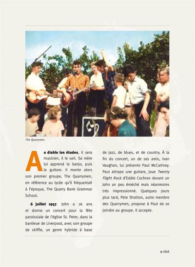 Page 2 Les Beatles en BD