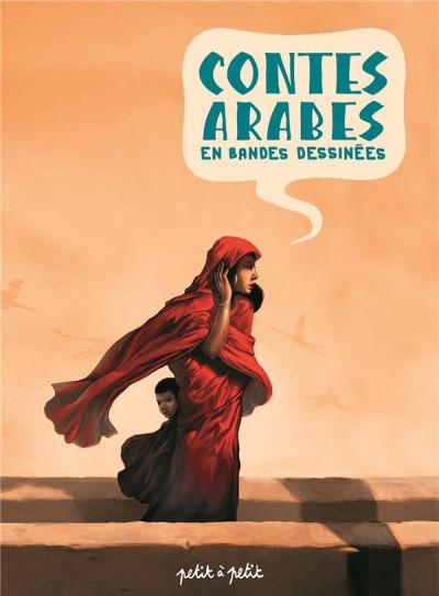 Couverture Contes arabes en bandes dessinées