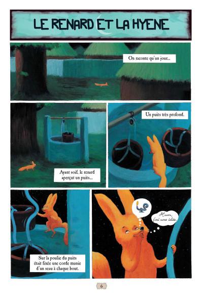 Page 1 Contes arabes en bandes dessinées