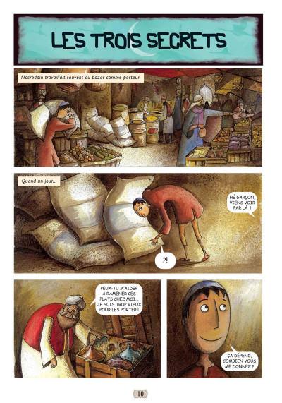Page 2 Contes arabes en bandes dessinées