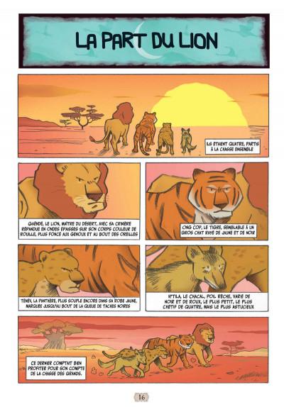 Page 3 Contes arabes en bandes dessinées