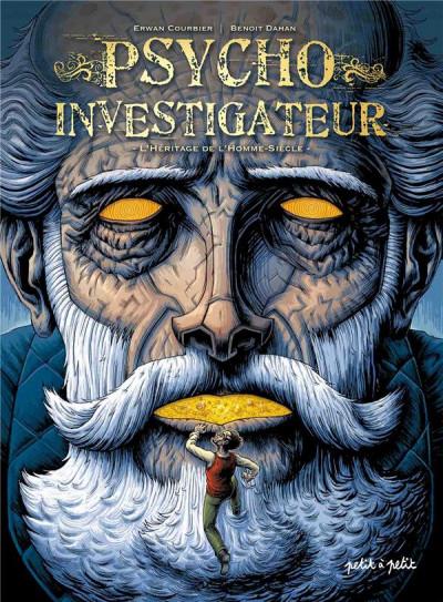 Couverture Psycho-investigateur, l'héritage de l'homme-siècle