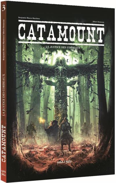 Couverture Catamount tome 3 + ex-libris offert