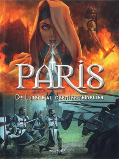Couverture Paris en BD tome 1 - De Lutèce au dernier templier