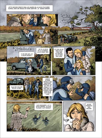 Page 1 mourir sur Seine tome 1