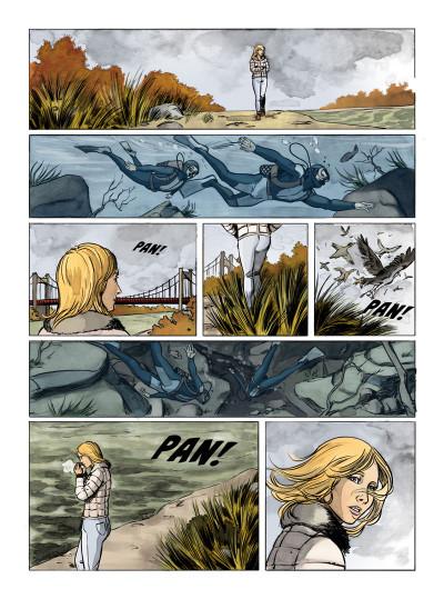 Page 2 mourir sur Seine tome 1