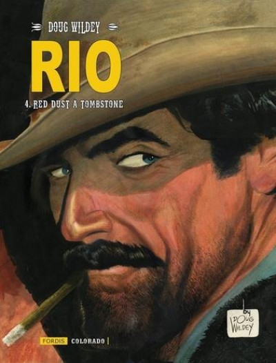 Couverture Rio tome 4 - Red Dust à Tombstone
