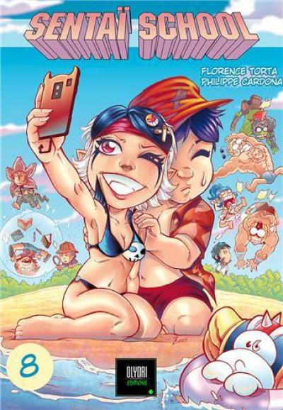 Couverture Sentai school tome 8