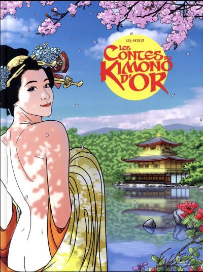 Couverture Les contes du kimono d'or