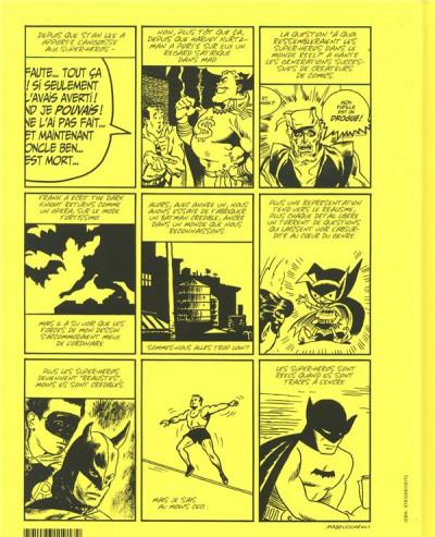 Dos Les cahiers de la BD - hors-série tome 1 - Batman, pourquoi il revient toujours