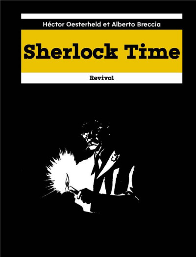 Couverture Sherlock time