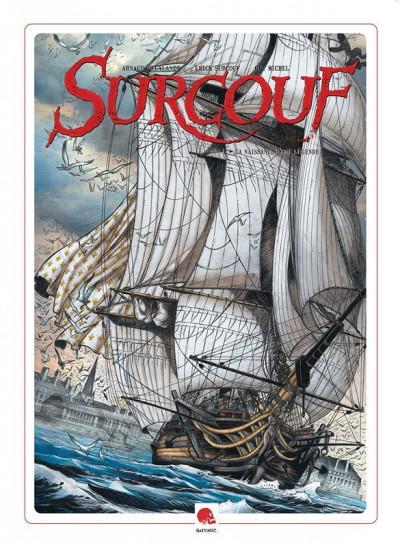 Couverture Surcouf tome 1