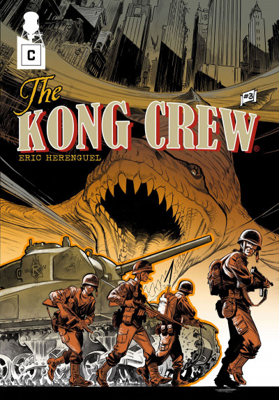 Couverture The kong crew tome 3