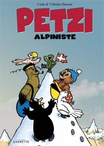 Couverture Petzi ; alpiniste