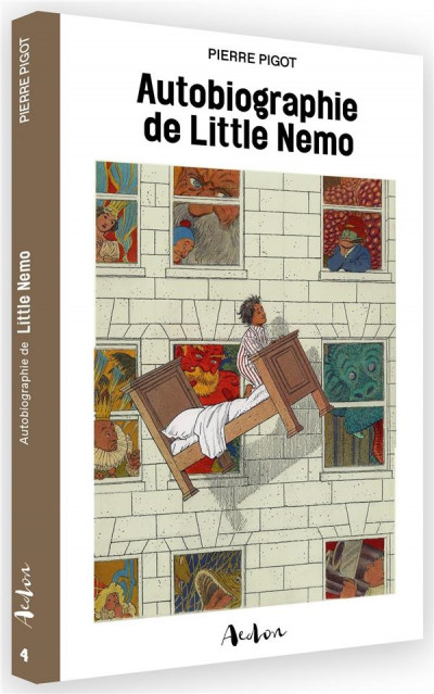 Couverture autobiographie de Little Nemo