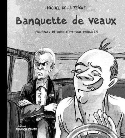 Couverture Banquette de veaux - Journal d'un taxi à Paris
