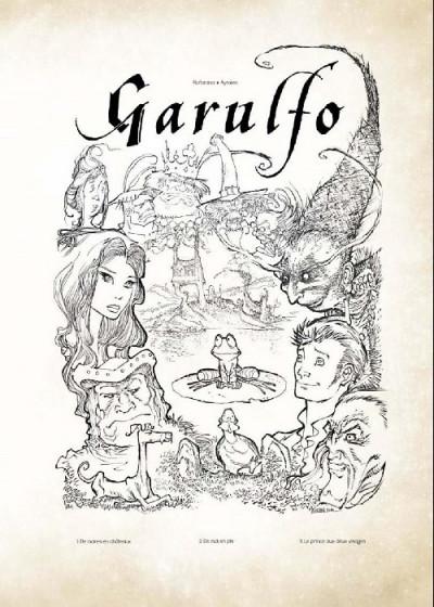 Couverture Garulfo - intégrale de luxe tomes 1 à 3