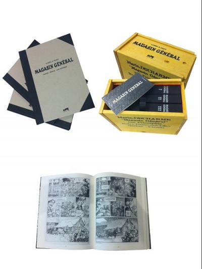 Couverture Magasin général tirage de luxe intégrale