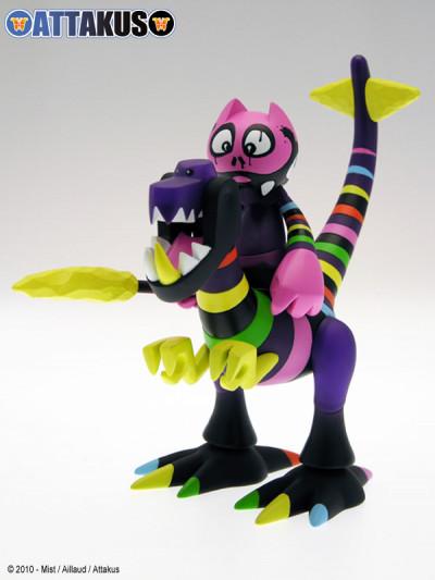 Page r figurine Dino & Orus - Rainbow Warrior