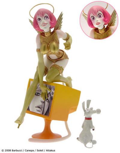Page e figurine Skydoll Noa