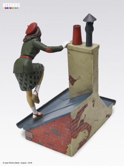 Page 3 Figurine Jeanne sur les toits de Paris