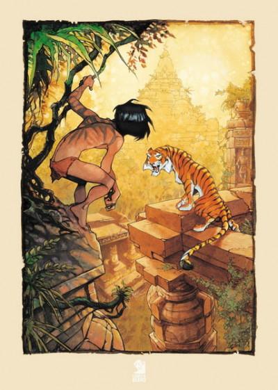 image de Affiche le Livre de la jungle ;Vatine ; 50x70