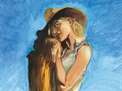 image de Affiche angela ;Vatine ; 18x24