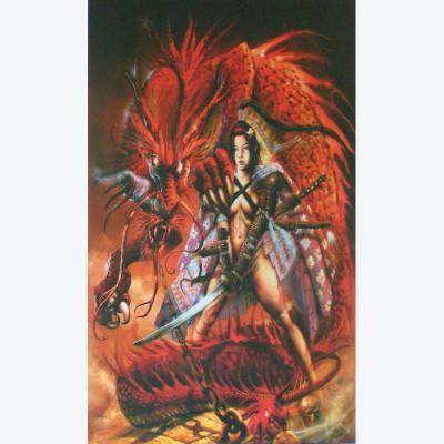 Page R Affiche Dragon ; Civiello ; 50x70