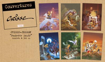 Page 4 Affiche hommage Clochette de Crisse - n&s à 350 ex - 30x40