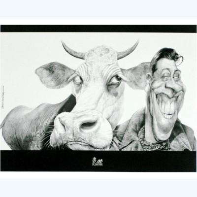 Page 1 Affiche La Vache et le Prisonnier 30x40