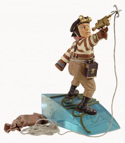 image de Figurine en Résine Le Réseau Bombyce ; Mouche