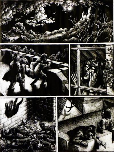 Page 3 Planche originale Erzsebet ; p°43