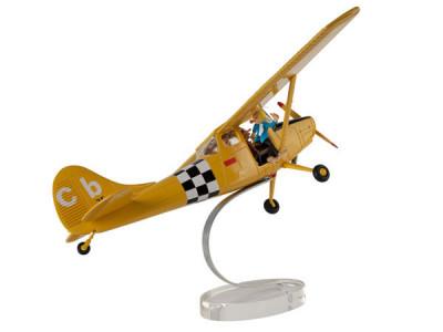 Page 1 Figurine Spirou et Fantasio, Cessna bird dog L19
