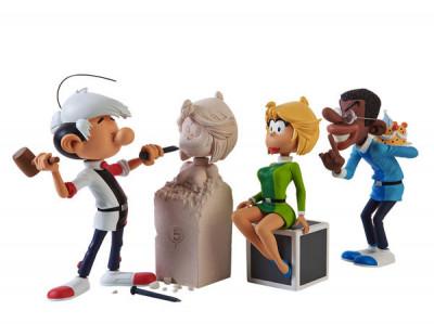 Page B Figurine Saynète ''La Sculpture''