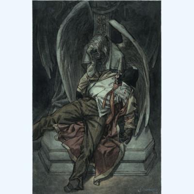Page 2 Affiche Ange ; la mort n°2 ; Guarnido ; 40x60