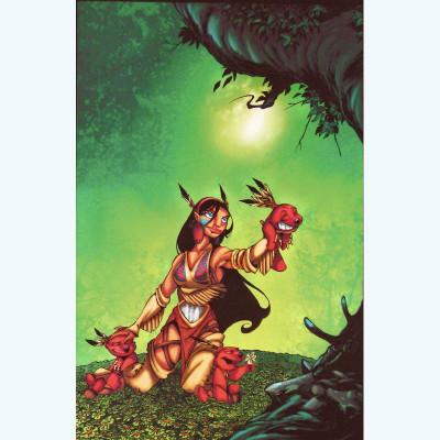 Page S Affiche Forêt ; Kéramidas ; Signée & Numérotée 100 ex. ; 30x40