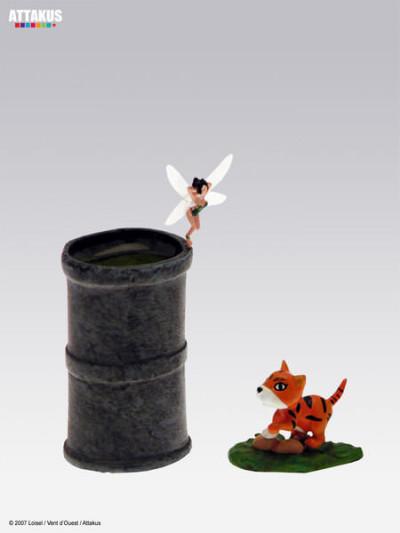 "image de figurine plomb Peter Pan ; Clochette ""Londres"""