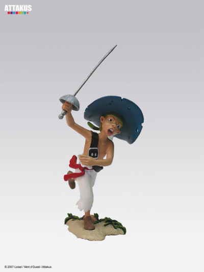 """image de figurine plomb Peter pan ; Peter """"Opikanoba"""""""