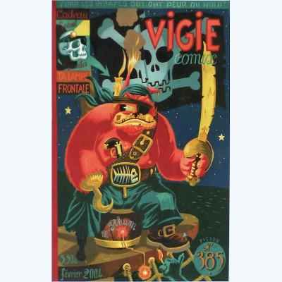Page S Affiche Vigie ; Mezzo ; Signée & Numérotée 100 ex. ; 30x40