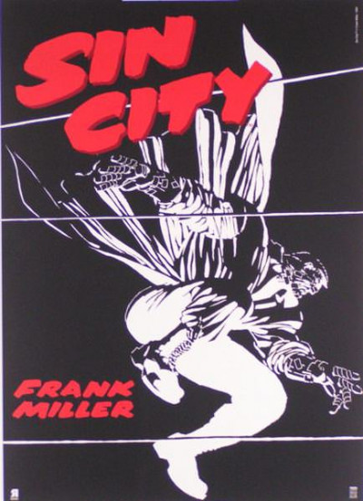 Page C Affiche Sin City ; Miller ; 50x70
