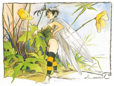 Page 8 Affiche Clochette - Loisel - 30x40