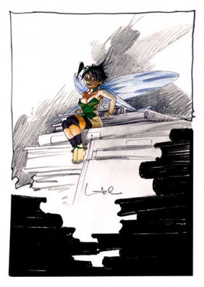 Page 5 Affiche La bibliothèque - Loisel - 1000ex. - 30x40