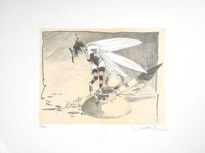Page 6 Lithographie Clochette 6 - Loisel - Signée & Numérotée 300ex. - 30x40