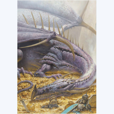 Page O Affiche Couverture du libre Dragon tome 2 - Smith - 50x70